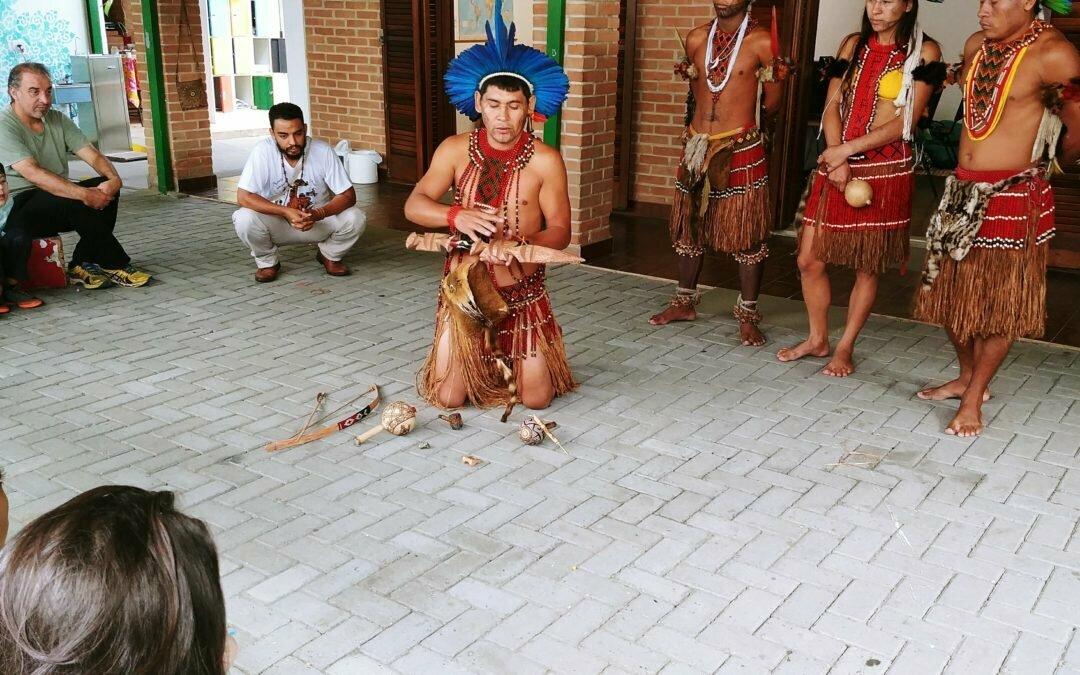 Visita dos Índios Pataxós