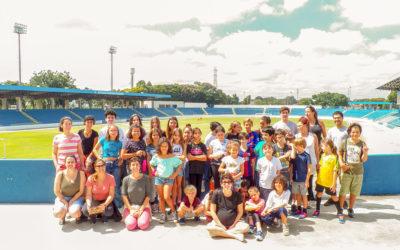 Escola Espiral vai ao Estádio Martins Pereira